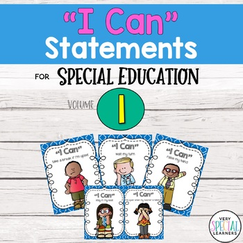 "Special Ed. ""I Can"" Statement Posters"