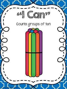 "Special Ed. ""I Can"" Statement Posters 5!!"