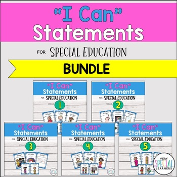 "Special Ed. ""I Can"" Statements - {THE BUNDLE!}"