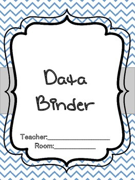 Special Ed IEP at a Glance, Data Binder Covers, Forms
