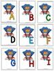 Sp. Education- Kindergarten- Alphabet Game Recognition & Match - Superhero