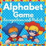 Sp. Education- Kindergarten- Alphabet Game Recognition & M