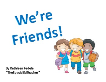 Special Ed Pre-K Thematic Unit: Being Friends