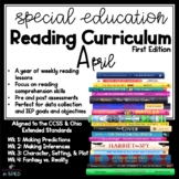 Special Ed Reading Curriculum April Reading Comprehension Unit