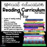 Special Ed Reading Curriculum May Reading Comprehension Unit