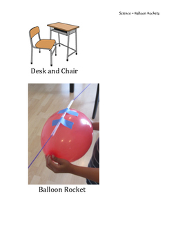 Special Ed Science! Balloon Rockets