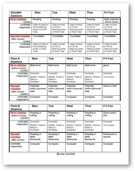 16 Special Ed EDITABLE Sample Schedules and How to Design a Schedule