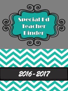 Special Ed Teacher Binder