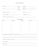 Special Ed Teacher Binder Forms