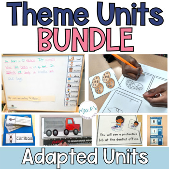 Special Education Thematic Unit DISCOUNTED BUNDLE  (Autism Resource)