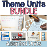 Special Education Thematic Unit DISCOUNTED BUNDLE  (Autism