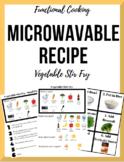 Special Ed. Visual Microwave Recipe - Vegetable Stir Fry (