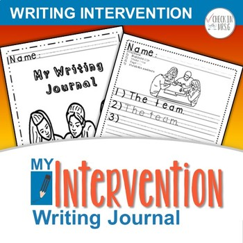 Special Ed Writing