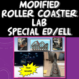 Special Ed and/or ELL Modified Roller Coaster Lab