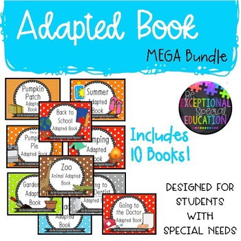 Special Education Adapted Book MEGA Bundle