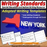 Special Education Adapted Writing Templates NEW YORK State WRITING STANDARDS