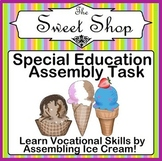 Special Education Assembly Task Ice Cream Building