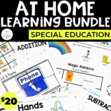 Special Education At Home Learning Bundle | Distance Learning