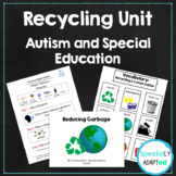 Special Education & Autism Science Unit- Recycling and Con
