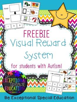 Special Education:  Visual Reward System for Autism FREEBIE