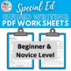 Autistic Support/ Special Education Writing Bundle- All 3 Levels (Updated)