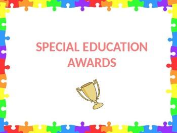 Special Education Awards
