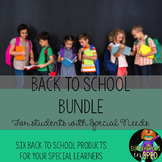 Special Education Back To School Bundle