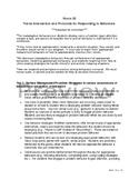 Special Education Behavior Intervention Plan