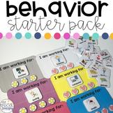Special Education Behavior Starter Pack