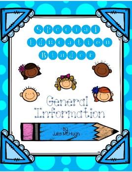 Special Education Binder General Information