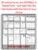 Special Education Teacher Binder with IEP Intervention Organizational Forms