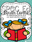 Special Education Binder Covers & Spines