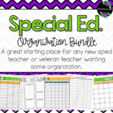 Special Education Organization Bundle