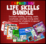 Special Education Bundle Life Skills Reading Writing Math Vocational