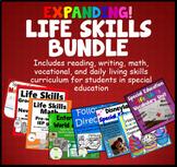 Special Education Bundle Life Skills Reading Writing Math Vocational