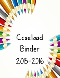 Special Education Caseload Binder pdf
