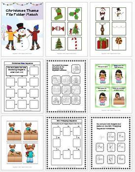 Special Education Christmas Bundle