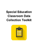 Special Education Classroom Data Collection Tool