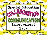 Special Education Collaboration & Communication Improvement Pack