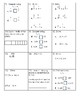 Special Education Common Core Math Computation Probes Package Grades 5 - 8