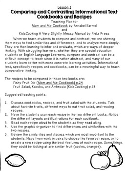 Special Education Compare/Contrast