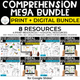 Special Education Comprehension MEGA Bundle - PRINT + DIGITAL