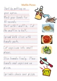 Special Education Cooking Recipe Muffin Pizza