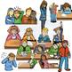 Special Education & Counseling Clip-Art BUNDLE! 128 pcs. BW/Color Clip-Art