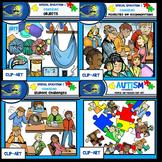 Special Education & Counseling Clip-Art BUNDLE! 128 pcs. B