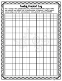 Special Education Data Collection_ Reading Log to track accuracy and fluency