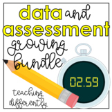 Special Education Data Sheet Growing Bundle