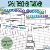 Special Education Data and Assessment Tracker - Color, B&W
