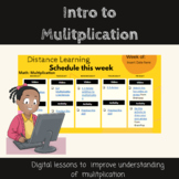 Special Education Digital Lessons: Foundations of Multiplication