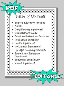 Special Education Disability Teaching Tips and Strategies